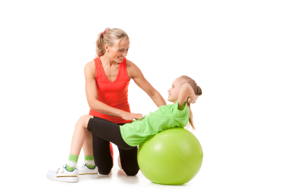 Physical Therapist With Child | Central Florida Therapy